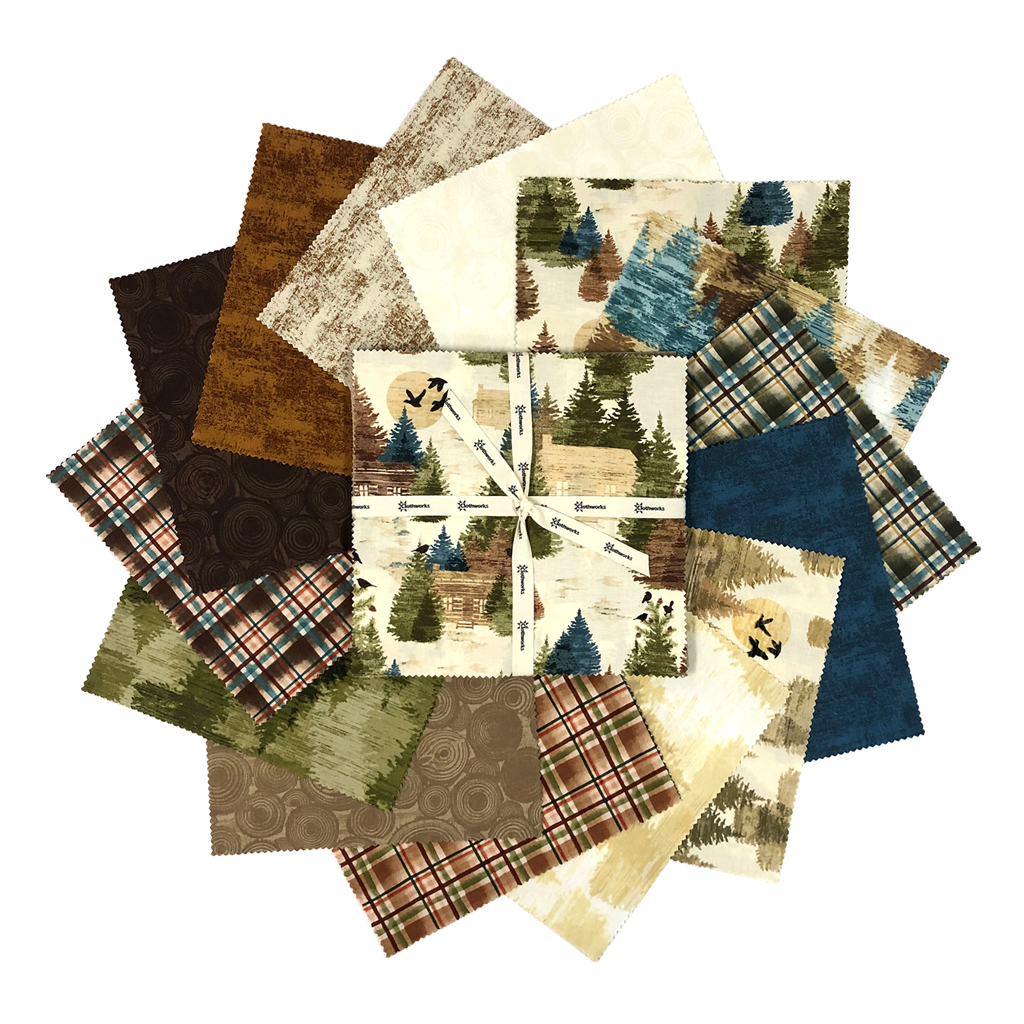 "Wild and Free 10"" Squares"