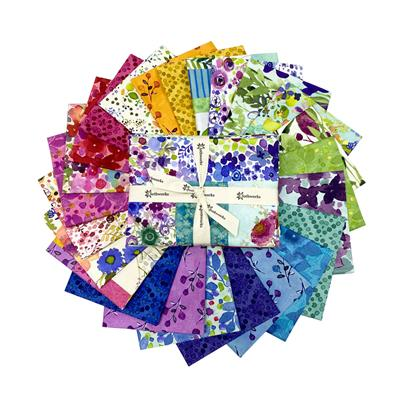 Painted Patchwork Fat Eighth Pack