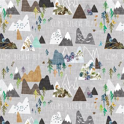 Forest Glade Digital Mountains