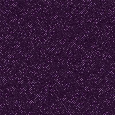 Purple Reign Half Moon Dots